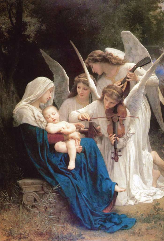 Virgin of the Angels, Adolphe-William Bouguereau, 1881
