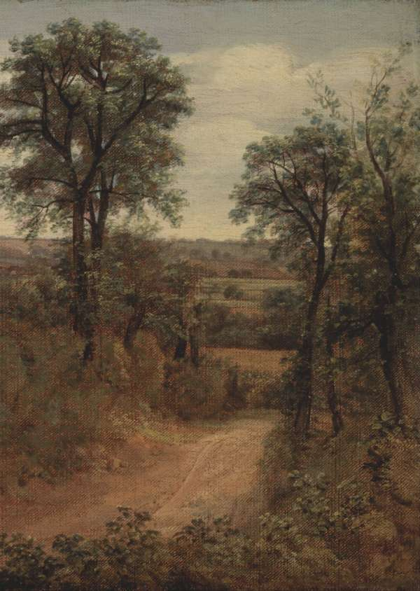Lane near Dedham by John Constable